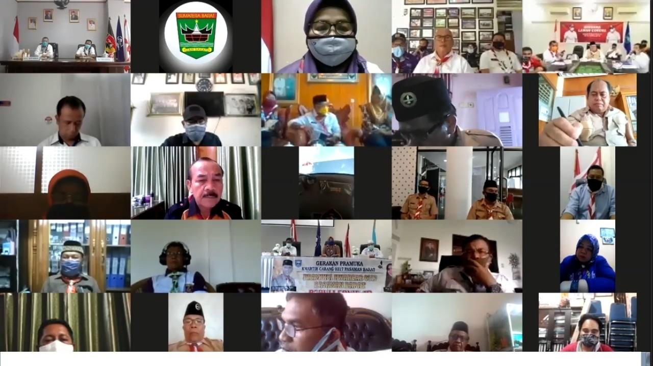 Kak Nasrul Abit Himbau Pramuka Sosialisasilan PSBB