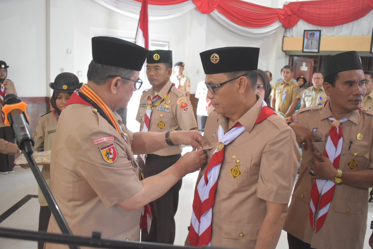 Majelis Pembimbing dan Pengurus Kwarcab Mentawai Periode 2018 —2023 Resmi Dilantik