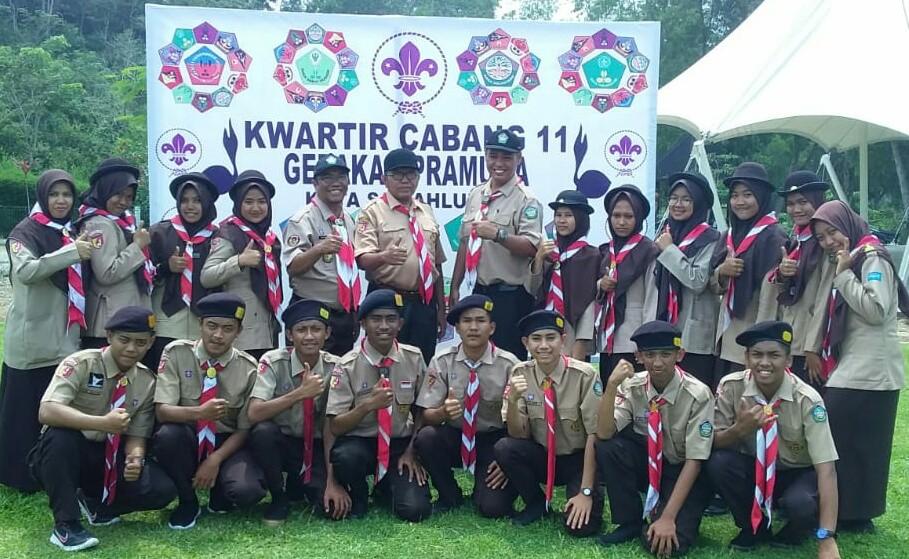 Pramuka Saka Karpataru Sawahlunto Raih Juara II Putra dan Juara III Putri  Pertikawan Regional Sumat