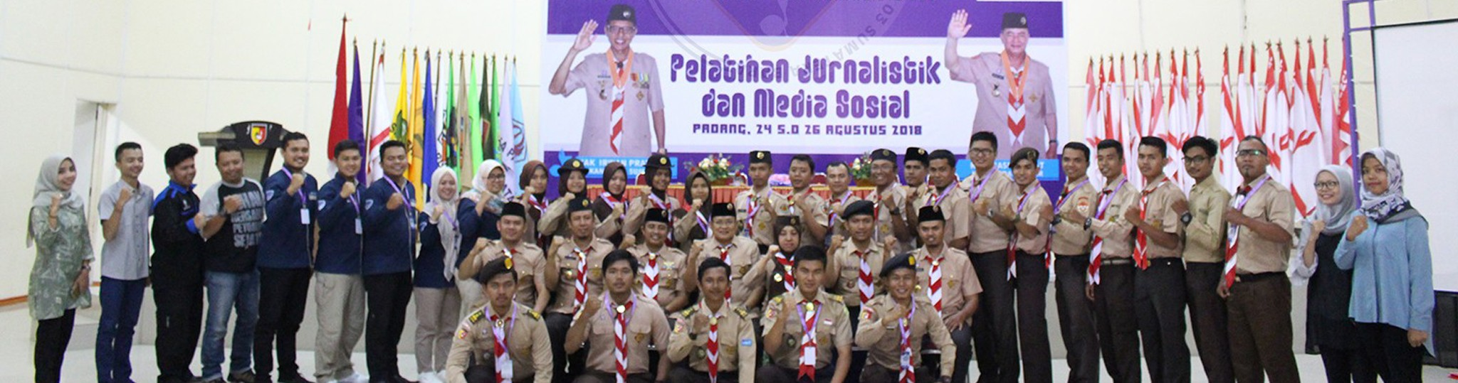 Kwarda Pramuka Sumatera Barat Gelar Pelatihan Jurnalistik dan Media Sosial