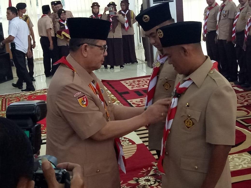 Kwarcab 18 Dharmasraya Bertekad Menjadi Kwarcab Tergiat di Sumatera Barat