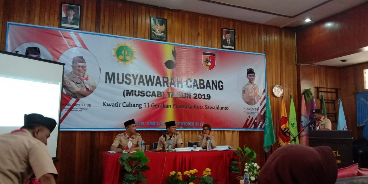 Kwarcab Sawahlunto adakan Muscab di akhir Masa Bakti 2014-2019