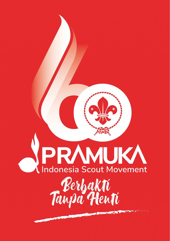 Logo 60 Tahun Gerakan Pramuka (SK, pedoman, dan file resolusi tinggi)